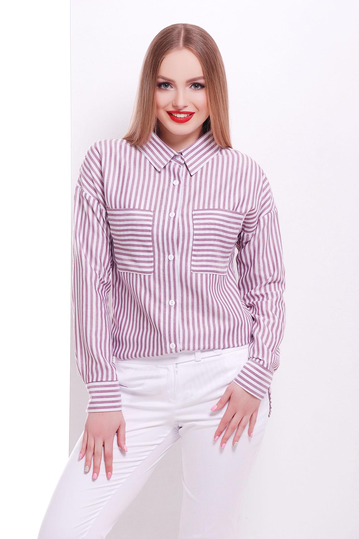 Полосатая блузка