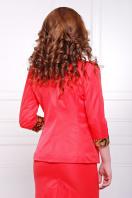стильный пиджак красного цвета. пиджак Леонора. Цвет: красный в интернет-магазине
