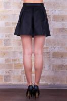 черная юбка в складку. юбка мод. №7Б. Цвет: черный