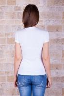 футболка с рисунком для девушек. Акварель Футболка-2. Цвет: принт купить