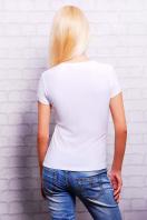 белая футболка с цветным принтом. Глаз Кензо1 Футболка-2В. Цвет: принт купить