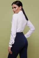 Женская белая блуза классического кроя. блуза Норма д/р. Цвет: белый цена