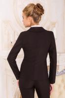 деловой коричневый пиджак. пиджак Одри. Цвет: т.коричневый цена