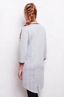 повседневное серое платье. платье Фрэнки2 д/р. Цвет: серый купить