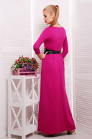 изумрудное платье длины макси. платье Шарли3 д/р. Цвет: фуксия купить