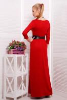 платье в пол цвета фуксии. платье Шарли3 д/р. Цвет: красный