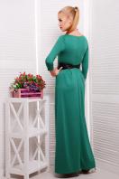 платье в пол цвета фуксии. платье Шарли3 д/р. Цвет: изумрудный