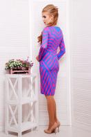 платье по фигуре с геометрическим принтом. Иллюзия платье Хлоя д/р. Цвет: принт купить
