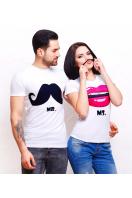 . Mr. and Ms. Футболка-2В. Цвет: принт