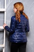 короткая женская куртка на осень цвета пудра. куртка Квин. Цвет: темно синий купить