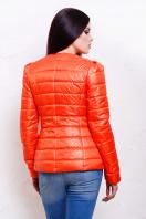 короткая женская куртка на осень цвета пудра. куртка Квин. Цвет: оранжевый купить