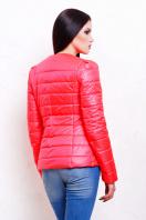 короткая женская куртка на осень цвета пудра. куртка Квин. Цвет: ультра розовый цена