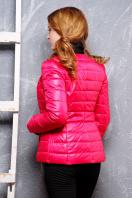 короткая женская куртка на осень цвета пудра. куртка Квин. Цвет: фуксия купить
