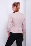 черный приталенный пиджак. пиджак Рандеву. Цвет: св.бежевый-беж. отделка купить