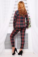 стильные женские брюки в клетку. брюки Эдема. Цвет: красный-синий клетка в интернет-магазине