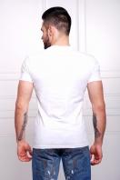 светлая мужская футболка из вискозы с бородачем на принте. Хипстер Футболка Men-2В. Цвет: принт купить