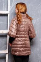 синяя куртка с рукавом три четверти. куртка Лисси. Цвет: темно бежевый купить