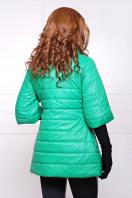 синяя куртка с рукавом три четверти. куртка Лисси. Цвет: зеленый купить
