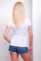 белая футболка с оригинальным рисунком. Акварель Футболка-2В. Цвет: принт купить