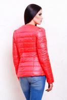короткая женская куртка на осень цвета пудра. куртка Квин. Цвет: коралл цена