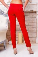 темно-красные женские брюки. брюки Хилори. Цвет: темно красный купить