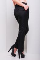 женские белые классические брюки большого размера. брюки Хилори-Б. Цвет: черный купить