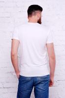 белая мужская футболка с крестами на принте. Крест Футболка Men-2В. Цвет: принт купить