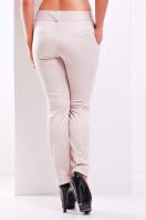 женские белые классические брюки большого размера. брюки Хилори-Б. Цвет: св. бежевый купить