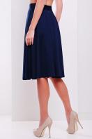 черная юбка миди. юбка мод. №19. Цвет: темно синий
