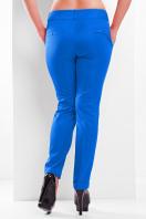 женские белые классические брюки большого размера. брюки Хилори-Б. Цвет: электрик купить
