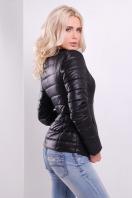 короткая женская куртка на осень цвета пудра. куртка Квин. Цвет: черный купить