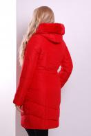 Элегантная женская куртка красного цвета с поясом. Куртка 168. Цвет: красный купить