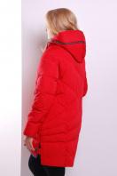 Красная женская куртка с серой отделкой. Куртка 360. Цвет: красный купить