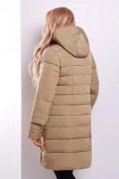 Стильная женская куртка песочного цвета. Куртка 367. Цвет: песочный купить