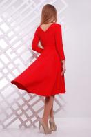 Женское платье красного цвета с ассиметричным низом. платье Лика д/р. Цвет: красный купить