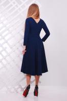 Женское платье красного цвета с ассиметричным низом. платье Лика д/р. Цвет: синий купить