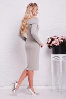 теплое сиреневое платье. платье Гвинея д/р. Цвет: серый купить