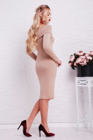 теплое сиреневое платье. платье Гвинея д/р. Цвет: бежевый купить