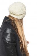 модная белая шапка. Шапка 2036. Цвет: белый цена