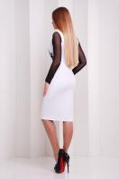 Платье по фигуре с принтом и сетчатыми рукавами. Греция платье Лоя-2КС д/р. Цвет: принт цена