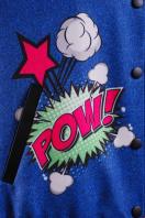 принтованная куртка-бомбер из кашемира. Джинсы-губы куртка Бомбер. Цвет: принт в интернет-магазине