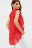 розовая блузка без рукавов. блуза Санта-Круз б/р. Цвет: красный цена