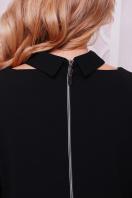 деловое черное платье большого размера. платье Элина-Б д/р. Цвет: черный цена