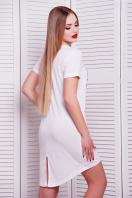 длинная женская футболка из вискозы. Шляпа футболка Фрак-2. Цвет: принт купить