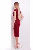 черное платье с воротником стойка. платье Цезара б/р. Цвет: бордовый купить