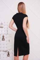 темно-синее женское платье по фигуре. платье Цезара б/р. Цвет: черный купить