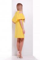 мятное платье с воланом на плечах. платье Ольбия б/р. Цвет: желтый купить