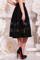 черная пышная юбка. юбка мод. №27. Цвет: черный купить