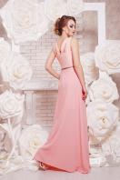 красивое персиковое платье в пол. платье Финикс б/р. Цвет: персик купить