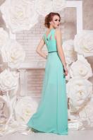 красивое персиковое платье в пол. платье Финикс б/р. Цвет: мята купить